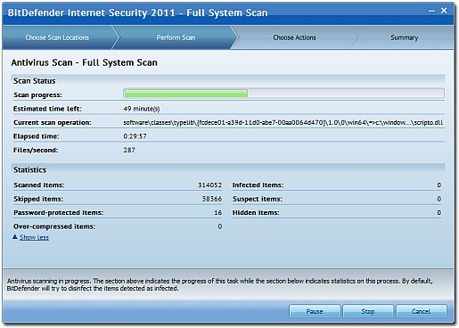 full system scan